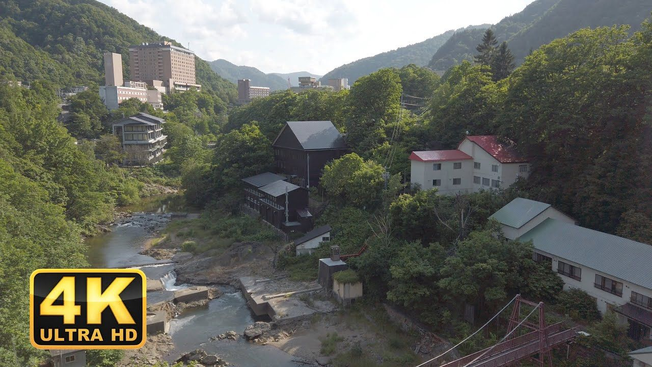 I took a stroll through Jozankei Onsen, a hot spring town in the suburbs of Sapporo. Jozankei Onsen, located in the suburbs of Sapporo, is a hot spring town that is usually visited by many tourists.The cave in the Iwato Kannondo is worth a visit. 0:00 Jozankeio Bridge(定山渓大橋) 13:30 Hot Water of Longevity and Health [...] The post Walking in Jozankei Onsen(定山渓温泉), Hokkaido【4K】 appeared first on Alo Japan.