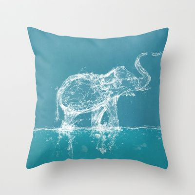 Elephant Throw Pillow By Paula Belle Flores Society6 Elephant Throw Pillow Horse Throw Pillows Throw Pillows