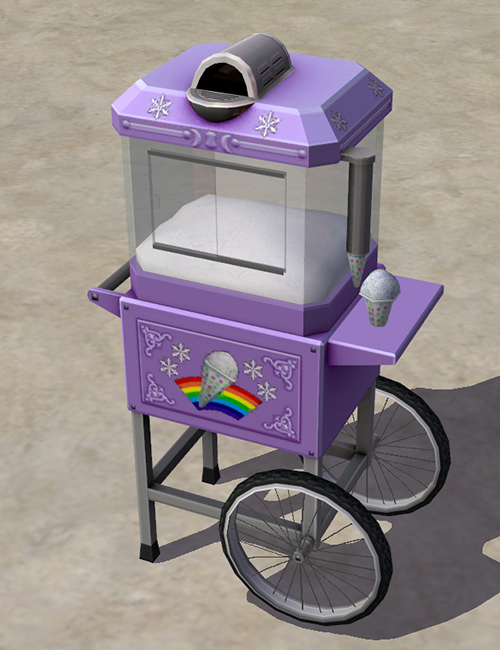 """""""My Contribution to GoS' December Monthly Theme, Two TS3 Conversions First is the Seasons snowcone machine, which had been hanging out in my WiP folder for a while now. It functions the same as the..."""