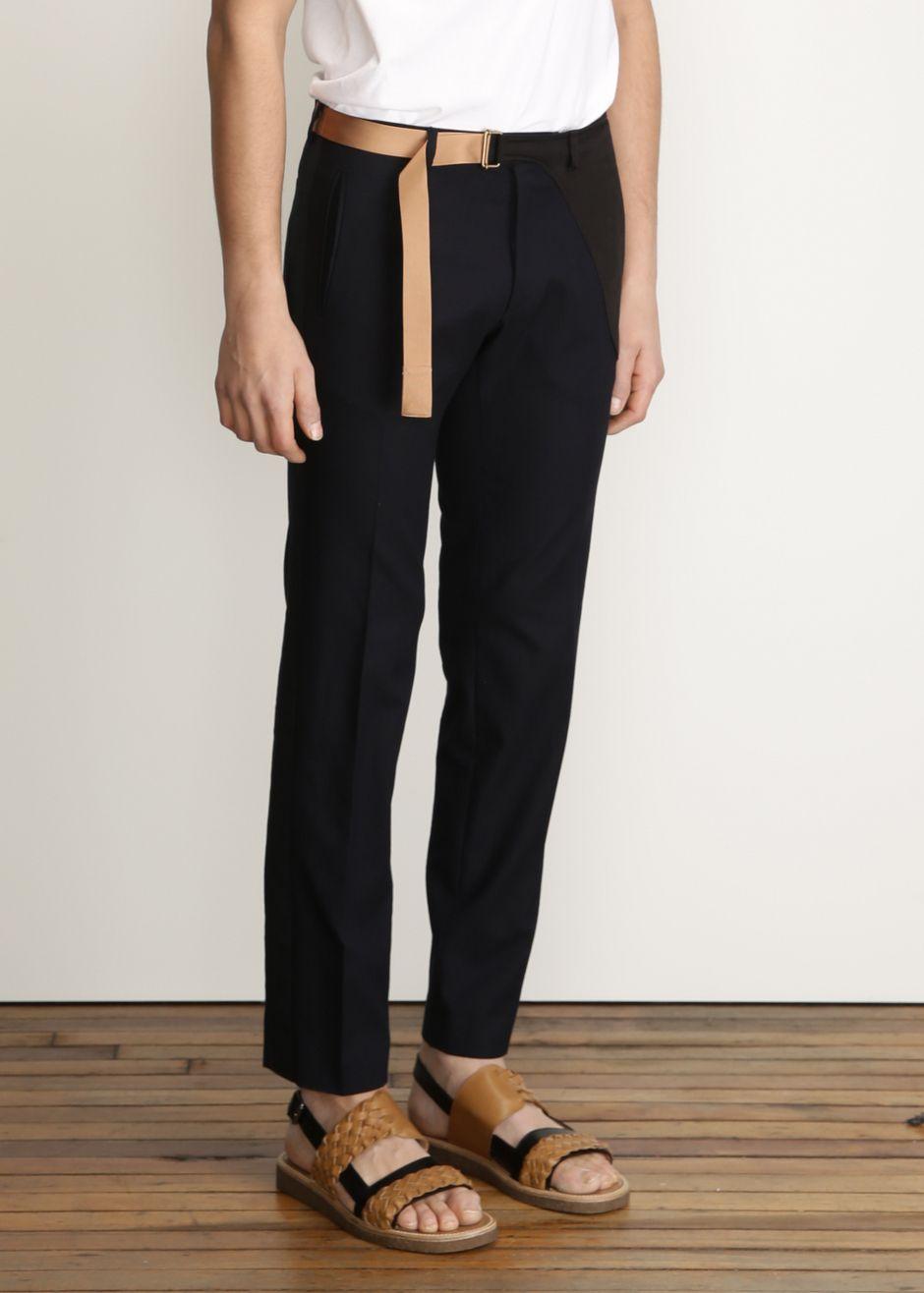 907d82c8 Dries Van Noten Pollack Pant (Navy) | P A N T S | Pants, Fashion, Design