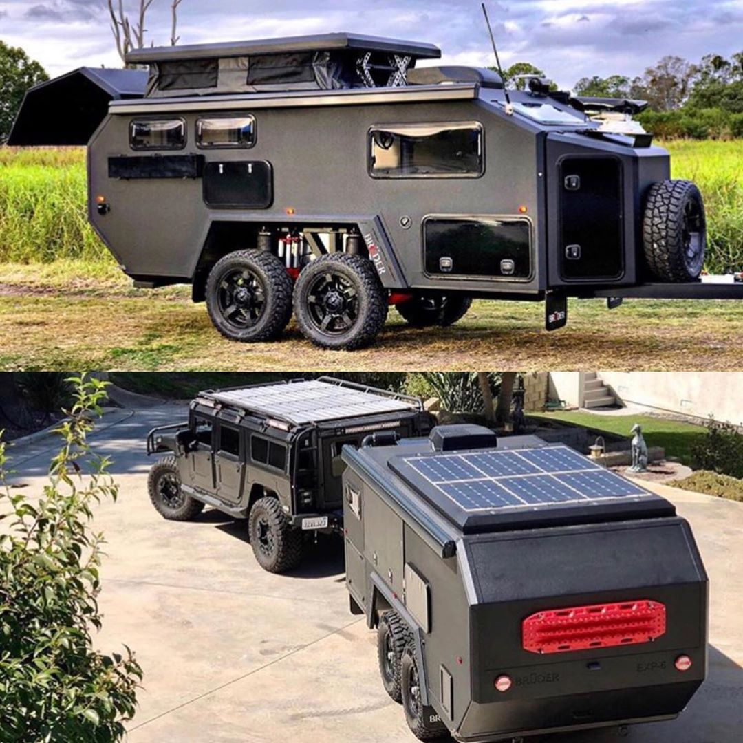 Dapperman S Choice On Instagram Bruder Exp 6 Off Road Expedition Trailer By Bruder Expedition In 2020 Expedition Trailer Off Road Camper Trailer Adventure Trailers