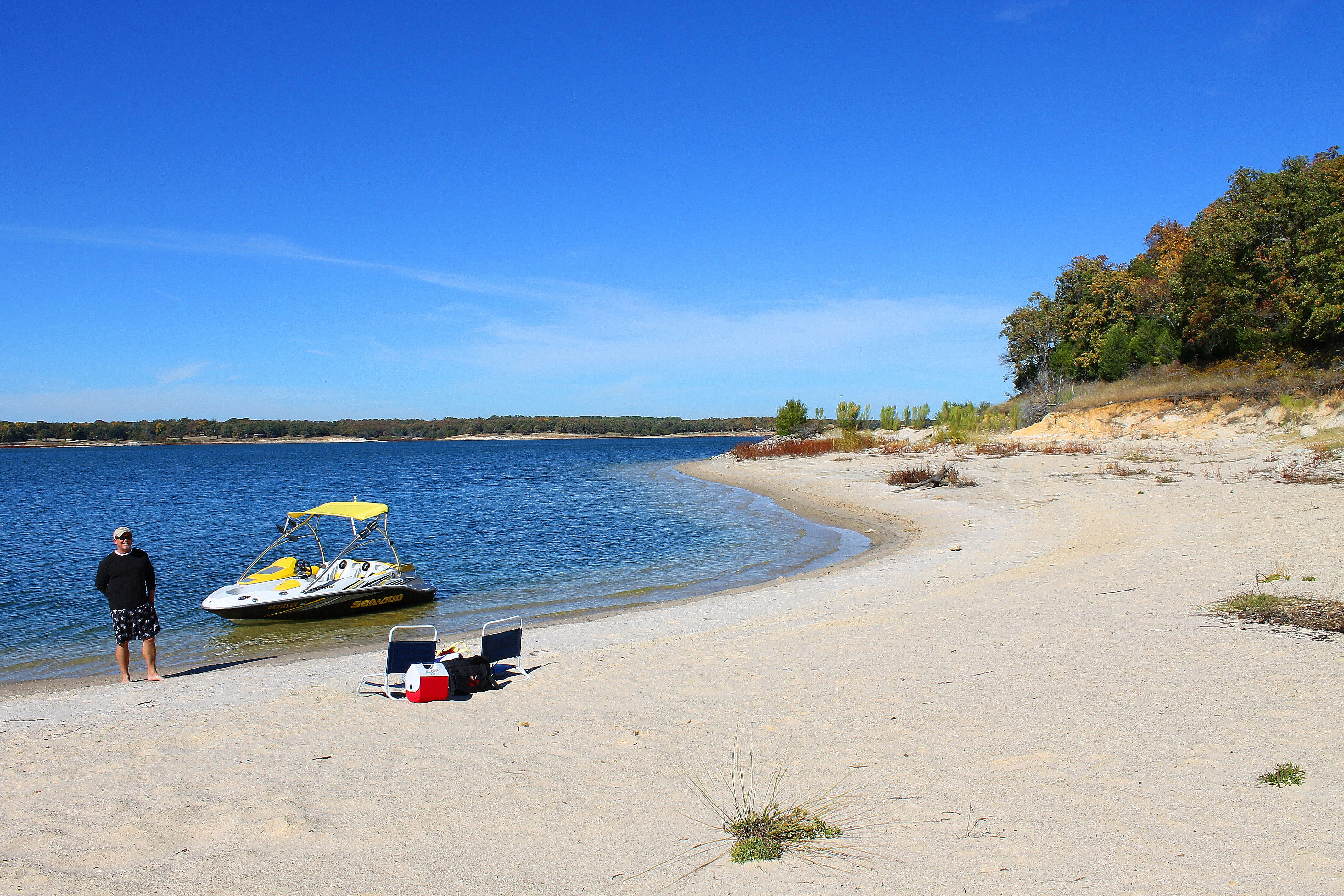 There Are Truly Beaches Like This On Lake Texoma Only An Hour North Of Dallas Tx Named To Top 10 Places Live In The U S 2017