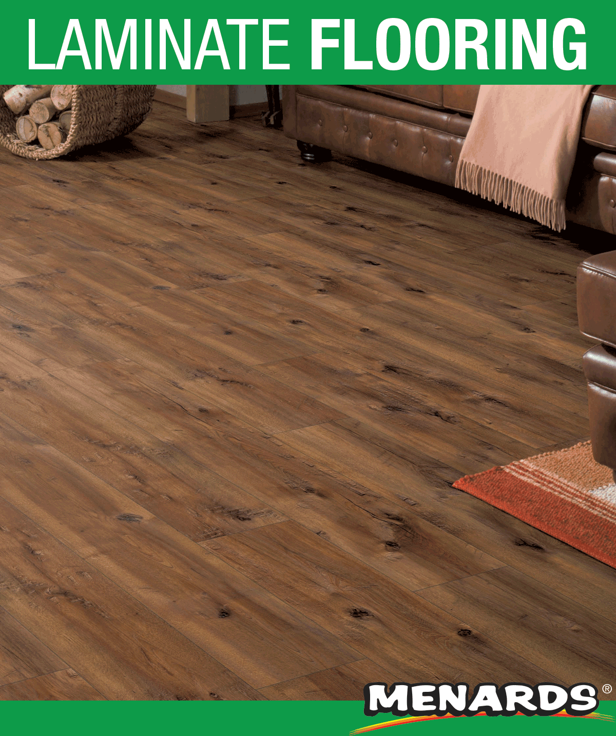 Boylan Heights Hickory Laminate Flooring Features A Realistic Wood