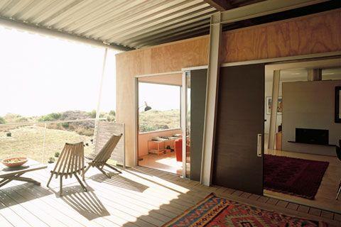 Nice use of Ply  Architecture Workshop house, Peka Peka, New Zealand.