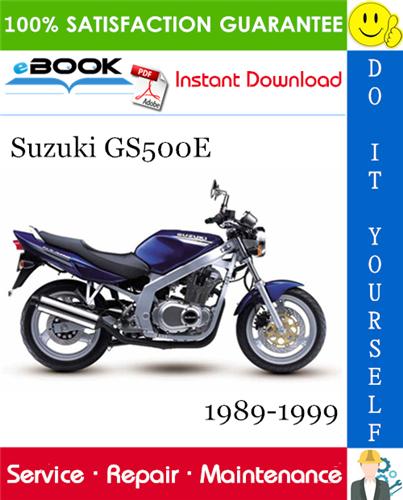 Suzuki Gs500e Motorcycle Service Repair Manual 1989 1999 Download Repair Manuals Suzuki Repair