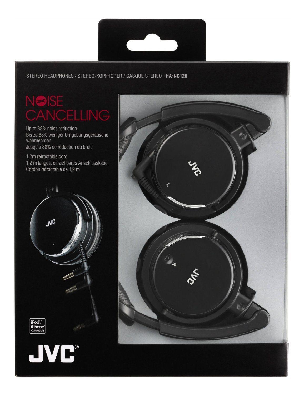 Jvc Ha Nc120 Noise Cancelling Headphones Black Best Headphones