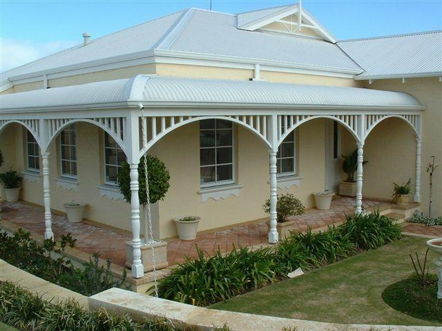 Brick Paved Verandah Google Search Cottage Exterior Outdoor Rooms Veranda