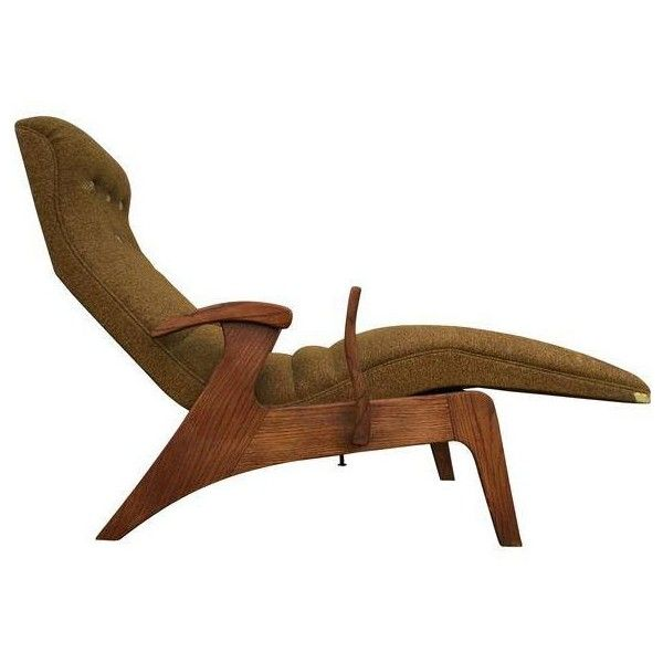 Genial Relaxa Lounge Mid Century Lounge Chair ❤ Liked On Polyvore Featuring Home,  Furniture,