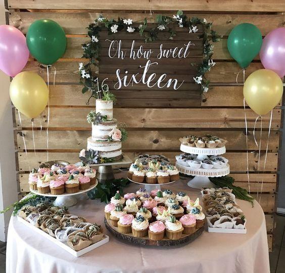 tables douces pour 15 ans 11 #sweetsixteen