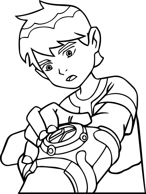 nice ben10 mcoloring coloring page 03 | Coloring Kids | Pinterest