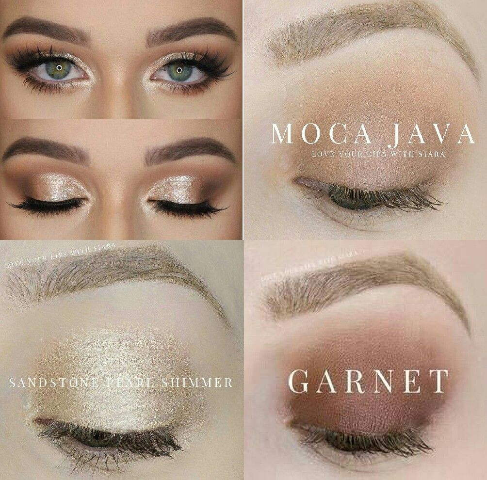 Get This Eyeshadow Look Senegence Shadowsense Garnet Moca