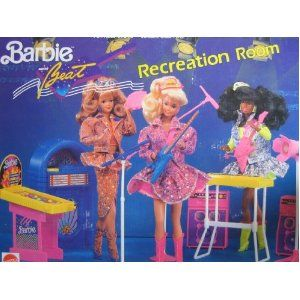 Barbie The beat recreation Room 1990 I still have this :)
