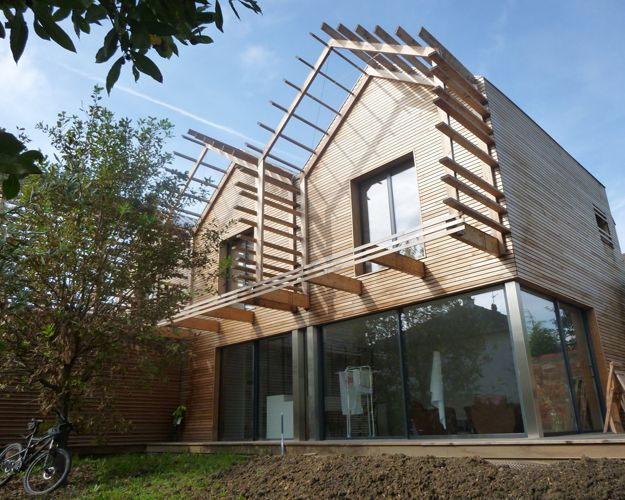 Maison BBC en bois massif CLT par Happy Home Wood on House