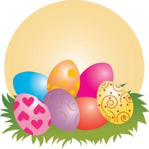 easter clipart | Easter Eggs Clip Art Images Easter Eggs Stock ...