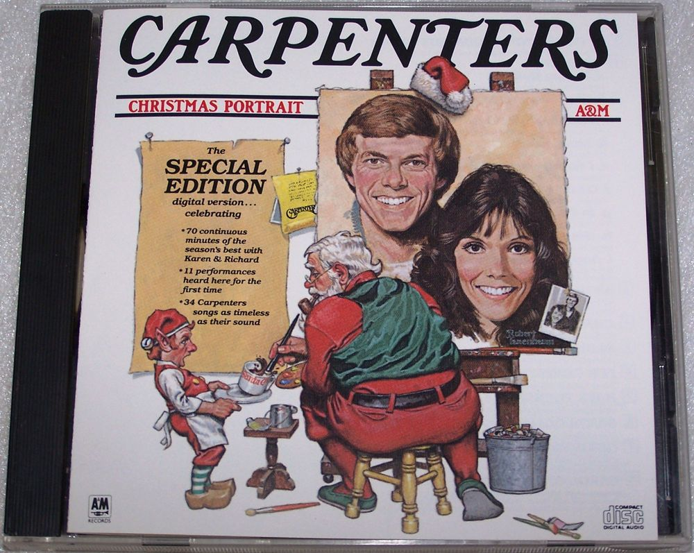 Carpenters Christmas Portrait Special Edition CD 21 Tracks 34 Songs ...