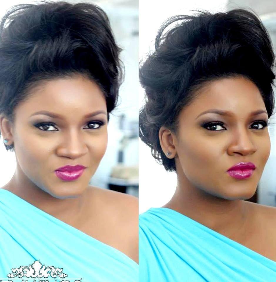 Chika ike chika ike shows off her new look diamond celebrities - Omotola Jalade Ekeinde Sexy New Look