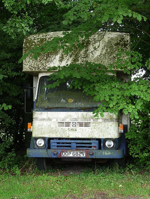 Abandoned Lorry England