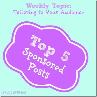5 Ways to Tailor Sponsored Posts to Your Audience #blogging