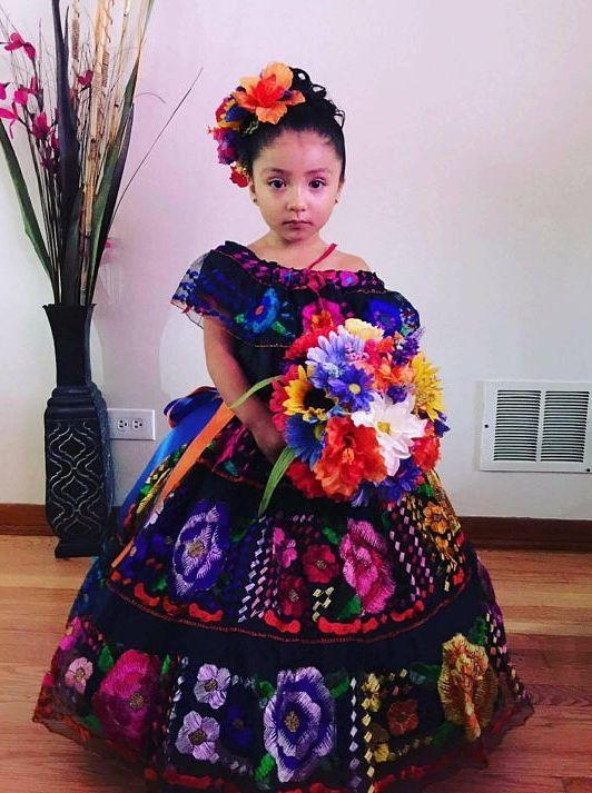 Aaliyah Cincoanera En 2019 Vestidos Mexicanos Para Niña