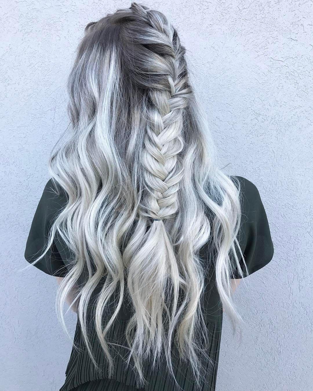 "598 Likes, 14 Comments - •Kathy Nunez• (@hairbykathynunez) on Instagram: ""Hair goals for days for the gorgeous @heidirus ✨Color by me, Braided by @rachelstudioonesalons ✨…"""