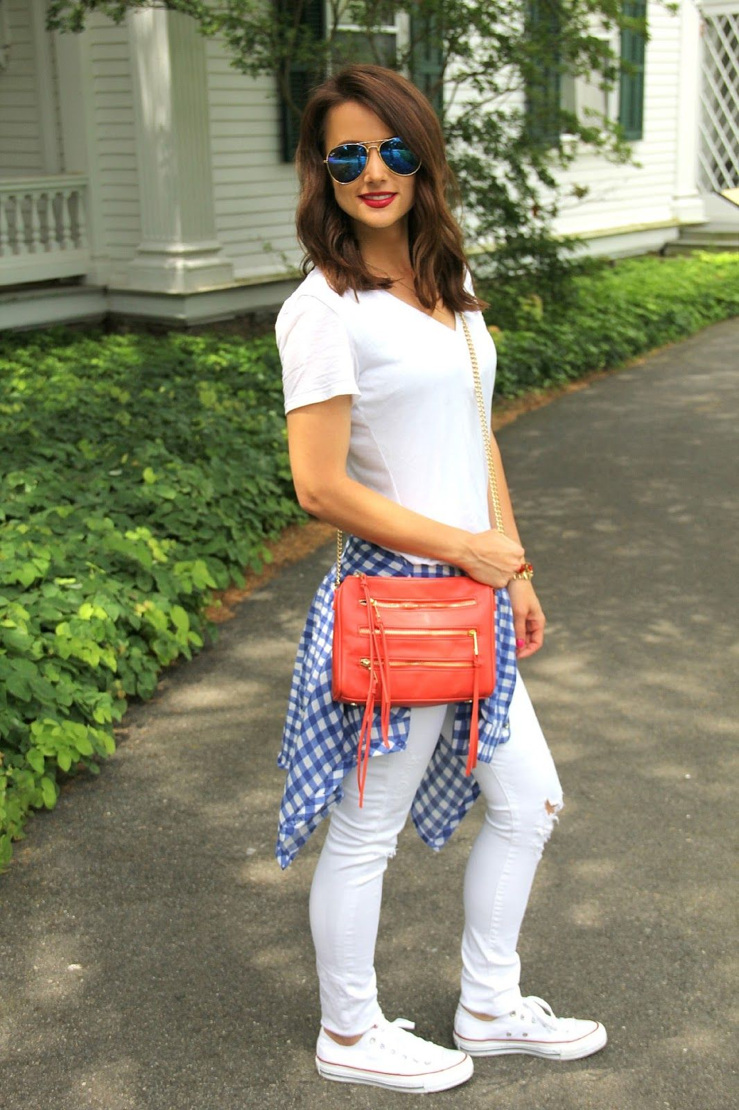 Awe Inspiring Kiss Me Darling Red White And Blue 4Th Of July Outfit Short Hairstyles Gunalazisus