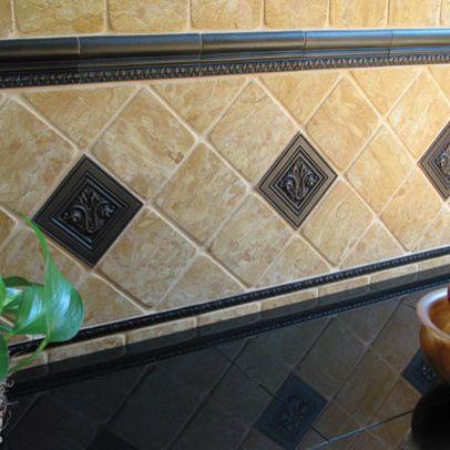 Traditional Kitchen Tile Kitchen Backsplash - page 13 Kitchens