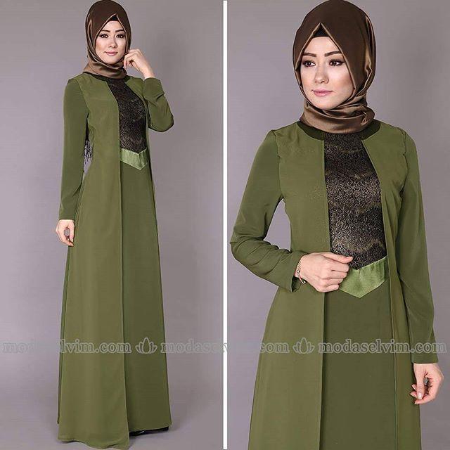 Modaselvim Tesettur Giyim Modaselvim Com Muslimah Fashion Fashion Dresses