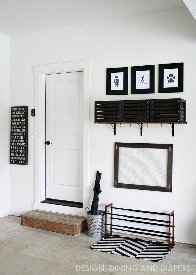 AMAZING GARAGE MUDROOMS! | Diy garage, Perfect place and Coats