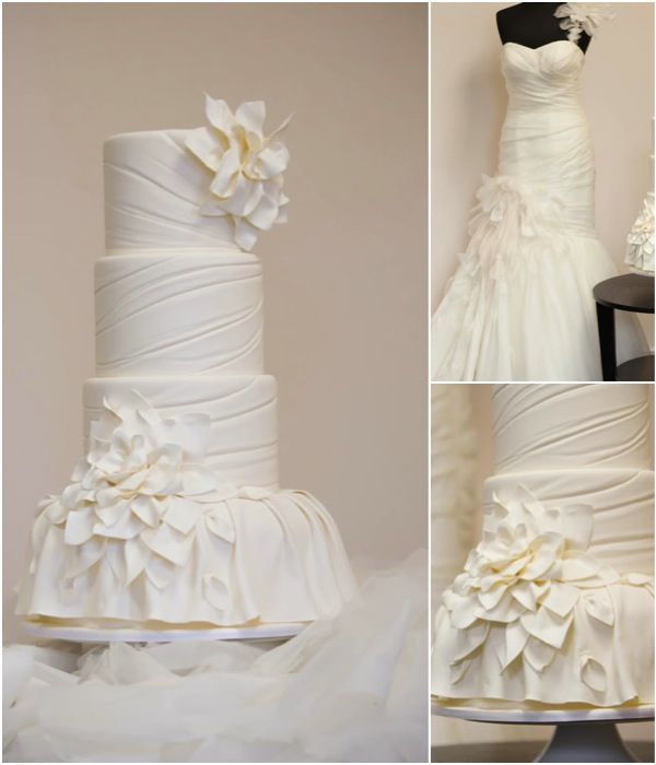 Classic Wedding Cakes With A Modern Twist To See More