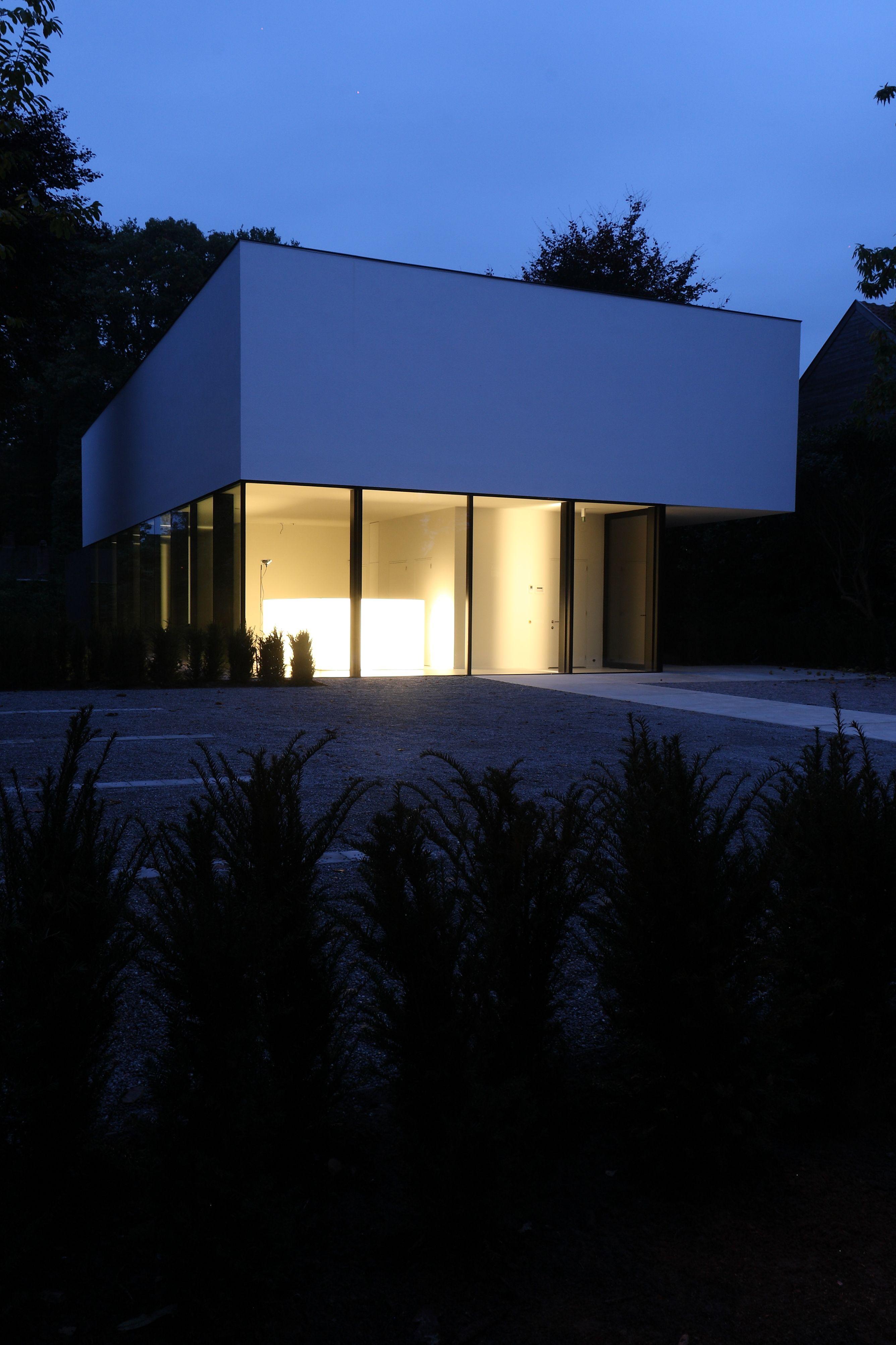 Icoon Be Architecten Minimalist Modern House Icoon Be Architecten