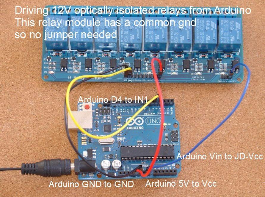 home automation how to add relays to arduino arduino pinterest elektro elektrotechnik und. Black Bedroom Furniture Sets. Home Design Ideas