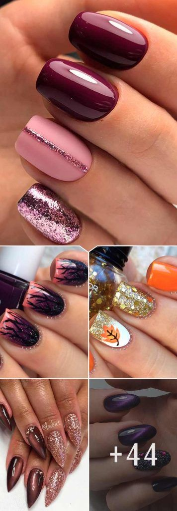 65 Must Try Fall Nail Designs And Ideas Fall Nail Designs Nail Designs Trendy Nail Design
