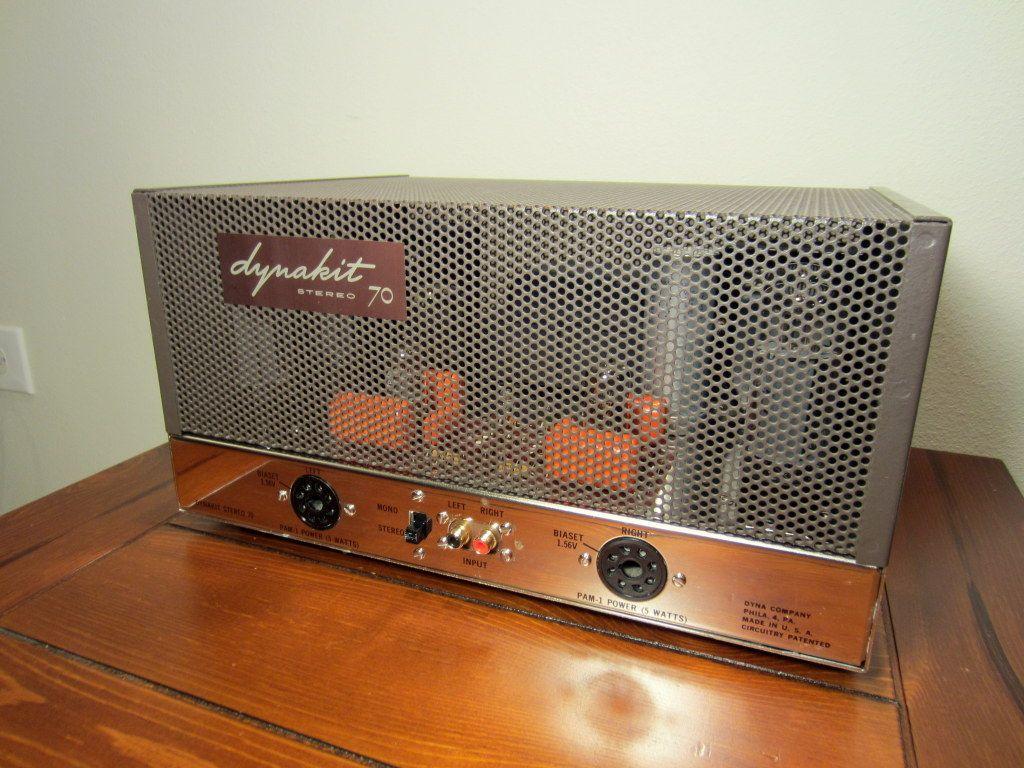 Dynaco ST-70 vacuum tube stereo amplifier