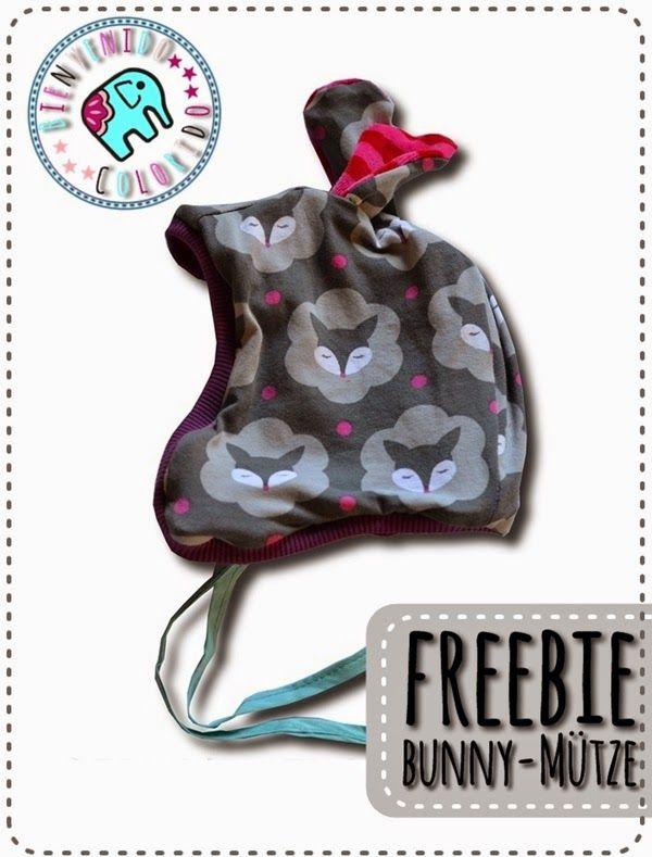 Bienvenido Colorido Freebook Bunny Mutze Kinderkleidung Selber Nahen Kinder Kleidung Nahen Kinder Sachen Nahen