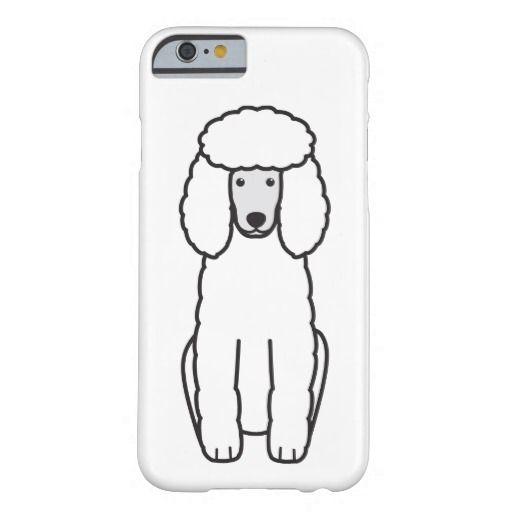 Poodle Dog Cartoon Case Mate Iphone Case Zazzle Com Cartoon