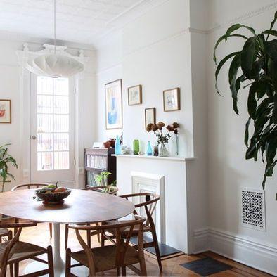 Kitchen Dining · Saarinen Table With Wishbone Chairs