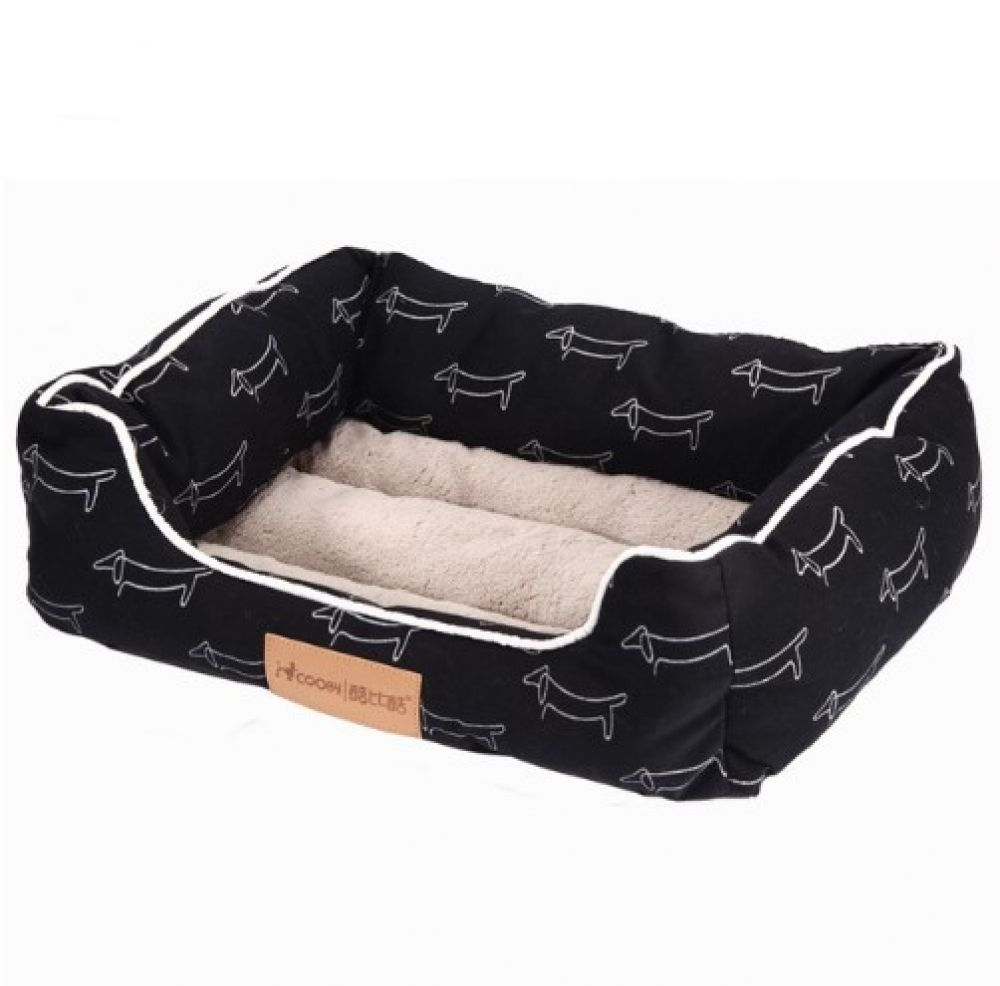Cartoon Dog Patterned Pet Bed Price 27 44 Free Shipping Pets Puppy Dog Beds Dog Bed Mat Dog Bed Large