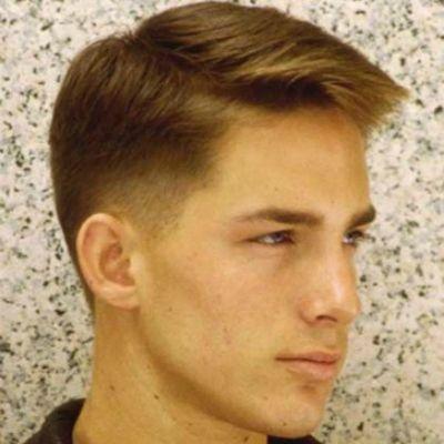 Mens Classic Taper Haircut