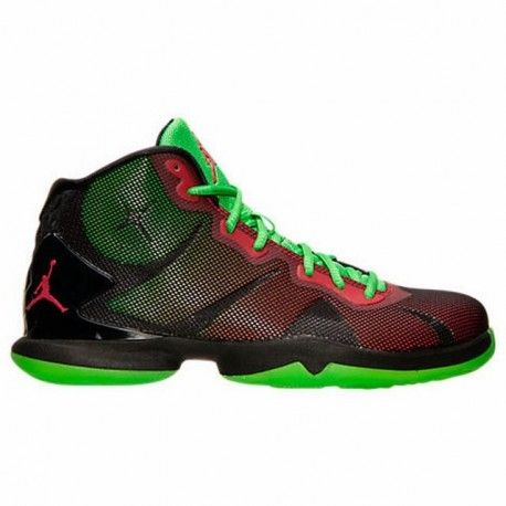 8aaf071961fb ... germany mens air jordan super.fly 4 basketball shoes black gym red  green pulse infrared