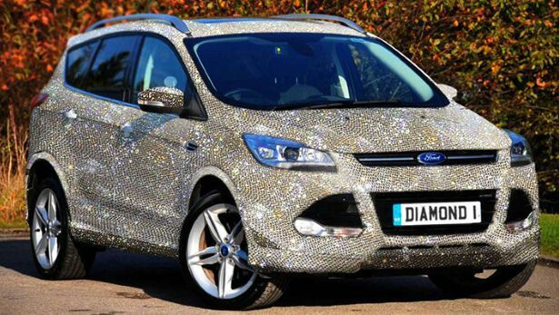 Diamond Encrusted Ford Ford Escape Ford Kuga Luxury Cars