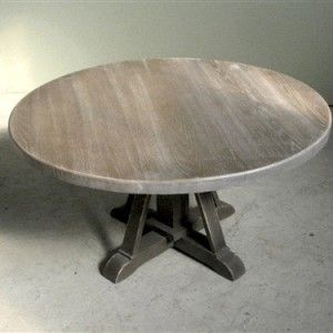 Driftwood Oak Coffee Table With Pedestal Base Round Pedestal Dining Table Oak Coffee Table Round Wood Coffee Table