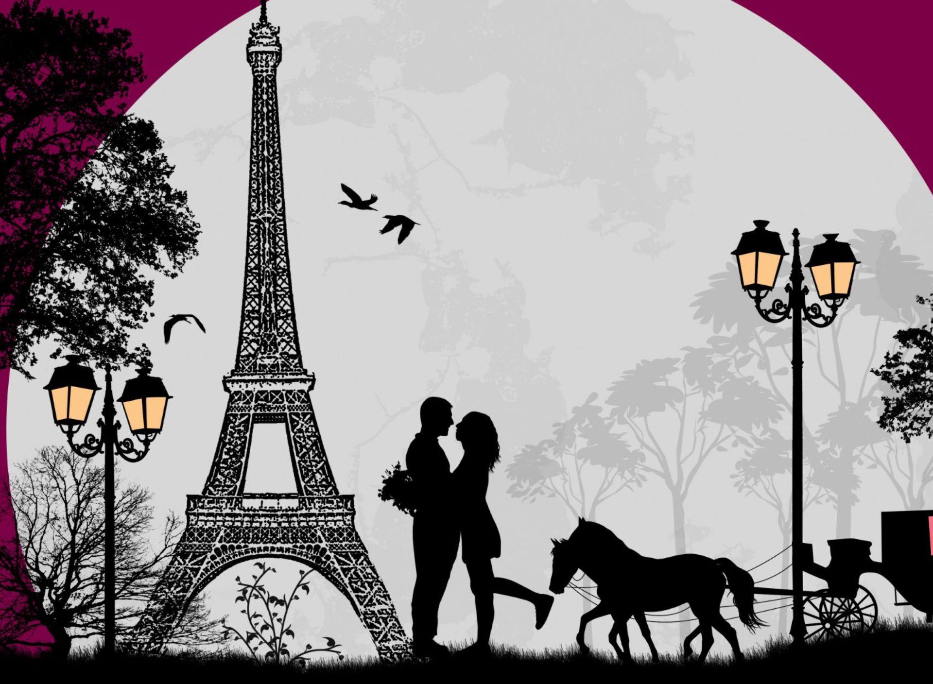 Wallpaper Paris Valentines Day In Paris Wallpaper Wide Or