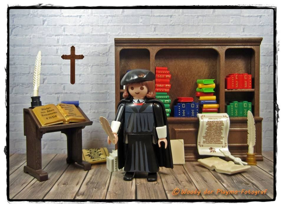 Martin Luther, by Woody der Playmo-Fotograf (playmobil)   gift ideas ...