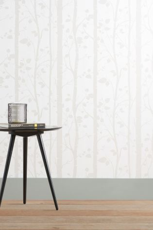 Buy Natural Trees Wallpaper from the Next UK online shop Bids