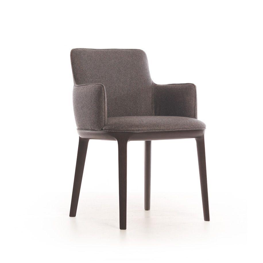 luxury italian upholstered candy armchair italian designer
