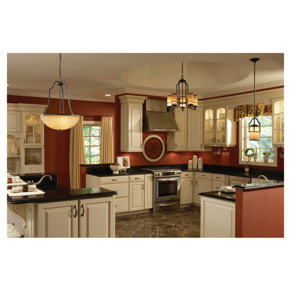 Kitchen Lighting Collections: Roslyn Collection By Sea Gull Lighting: Three-Light