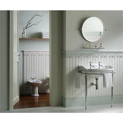 Boiserie White Beadboard Ceramic Tile From Hastings Tile Bath