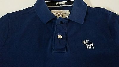 Abercrombie & Fitch Men Muscle Fit 100% Cotton Flagstaff Mountain Polo Shirt EUC #abercrombie #fitch #hollister #musclefit #MensLarge
