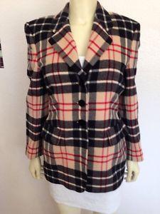 Sale Laurel Plaid Jacket Vintage Pure Wool 6 36   eBay