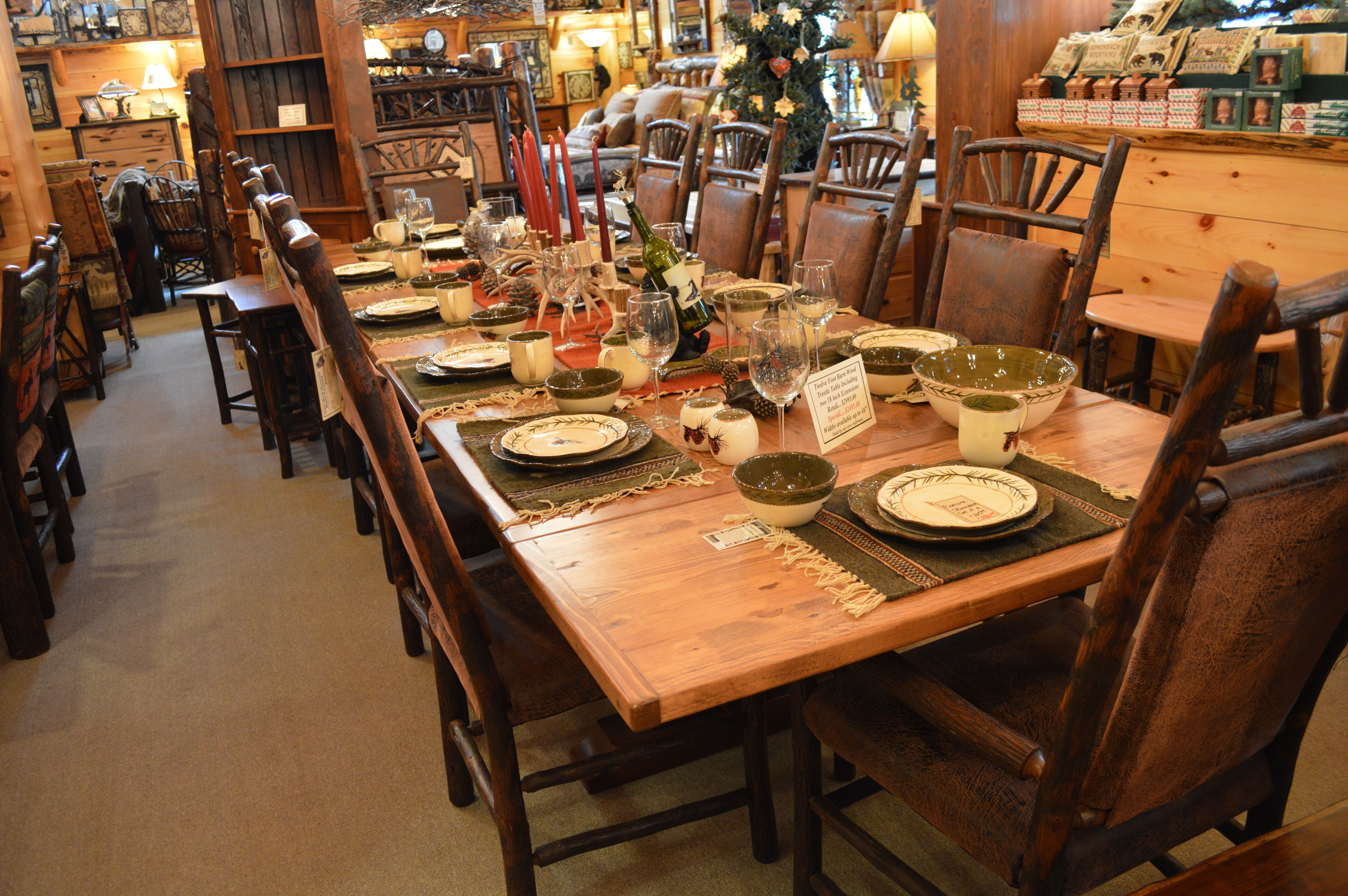 Large 12 Foot Barn Wood Dining Table Ohmrf Rustic